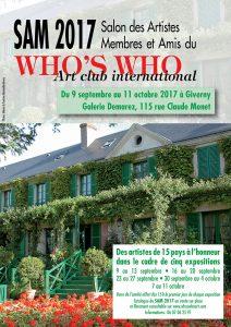 Nadia vuillaume artiste peintre contemporain sera présente pour l'exposition collective du who's who à Giverny