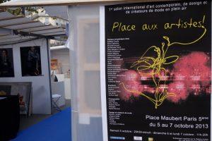 Place aux artistes Paris Octobre 2013